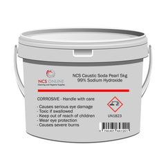 Caustic Soda Pearl Sodium Hydroxide 5kg