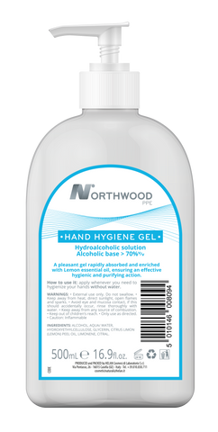 Hand Sanitiser Hygiene Gel 500ml