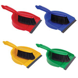 Professional Dustpan & Brush Set Colour Coded - NCSONLINE