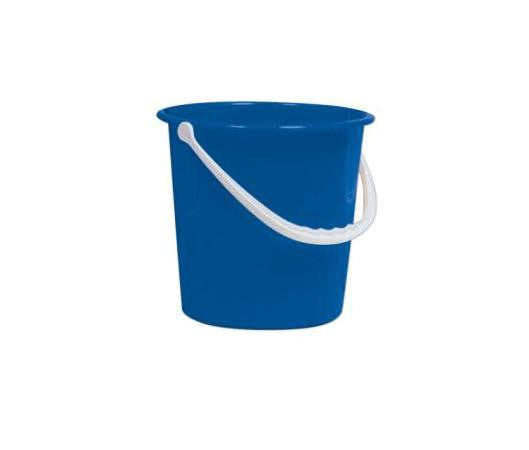 Round Bucket Colour Coded 10Ltr - NCSONLINE