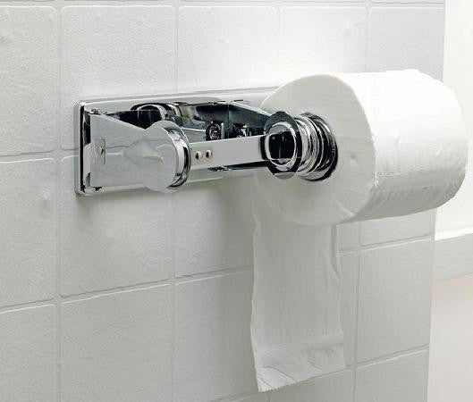 Toilet Roll Holder Chrome Double - NCSONLINE