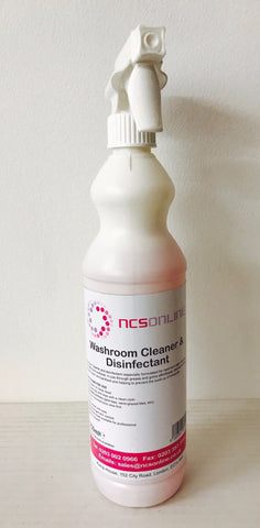 Washroom Cleaner and Disinfectant 750ml