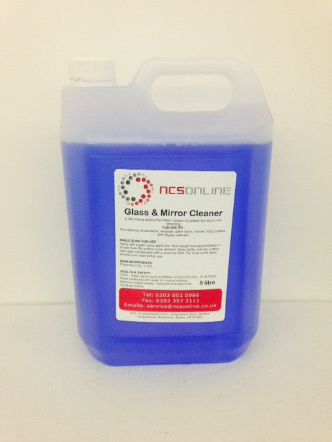 Window & Glass Cleaner 5Ltrs - NCSONLINE