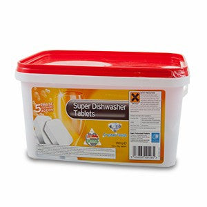 Dishwasher Tablets 5 In 1 Tub Of 150