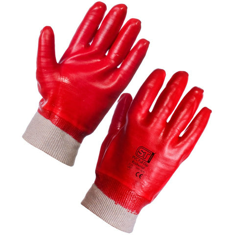 PVC Dipped Work Glove - Pack of 12 pairs