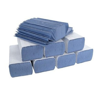 C-Fold 1Ply Blue Hand Towels x 2688