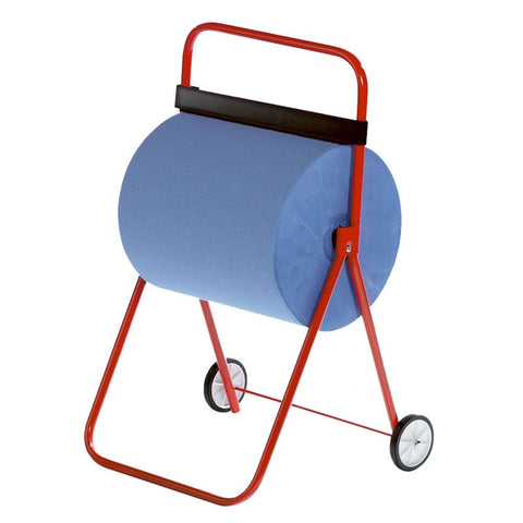 Metal Monster Roll Floorstand Dispenser with Wheels