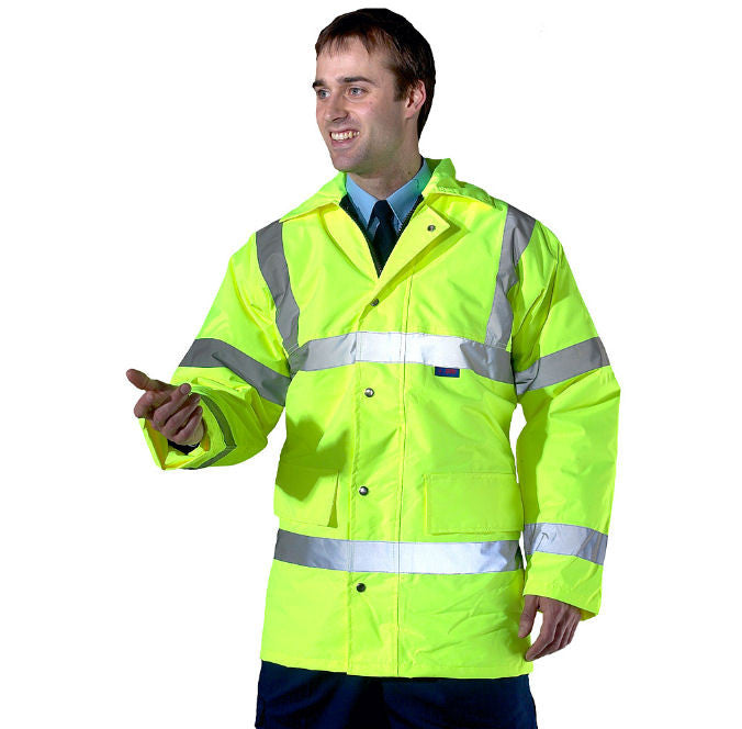 Hi-Vis Waterproof Jacket - NCSONLINE