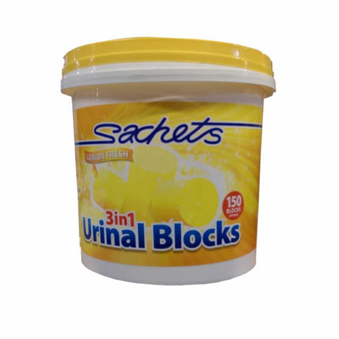 Lemon 3 in 1 Urinal Cubes 3KG Tub