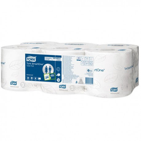 Tork Smartone Toilet Roll 200m 2 Ply White Pack of 6 - NCSONLINE