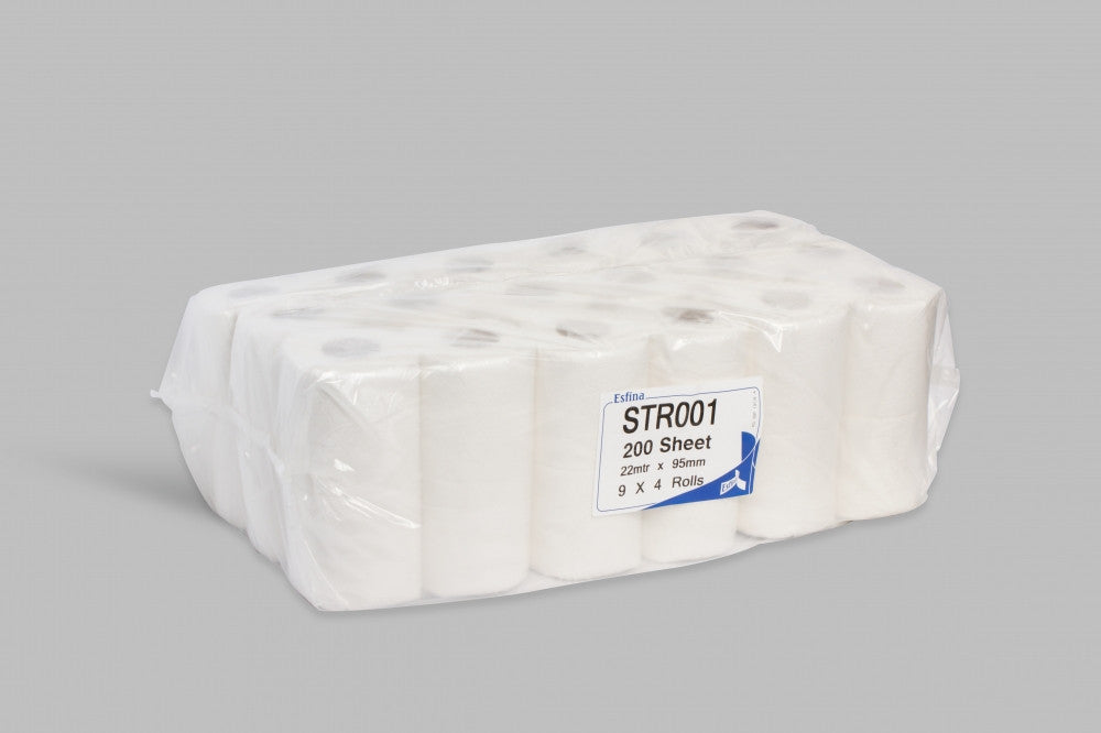 Conventional Toilet Roll 200 Sheet Pack Of 36 - Full Pallet - NCSONLINE