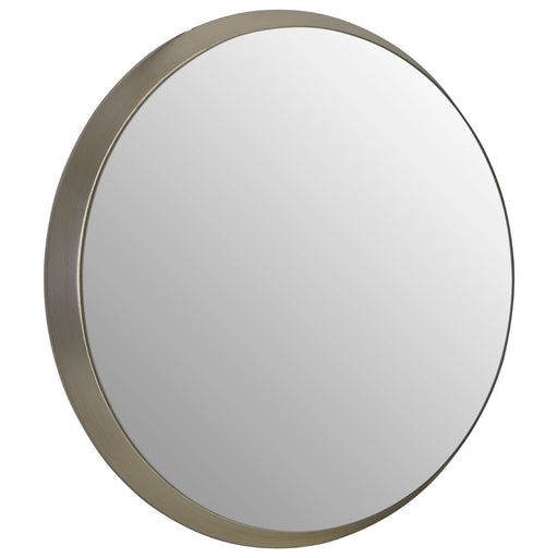 Athena Discus Silver Wall Mirror - Decor Interiors -  House & Home