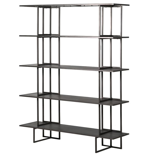 HOXTON INDUSTRIAL METAL SHELVING UNIT - Decor Interiors -  House & Home