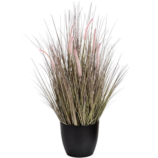 Large Faux Bristlegrass in a Pot - Decor Interiors -  House & Home