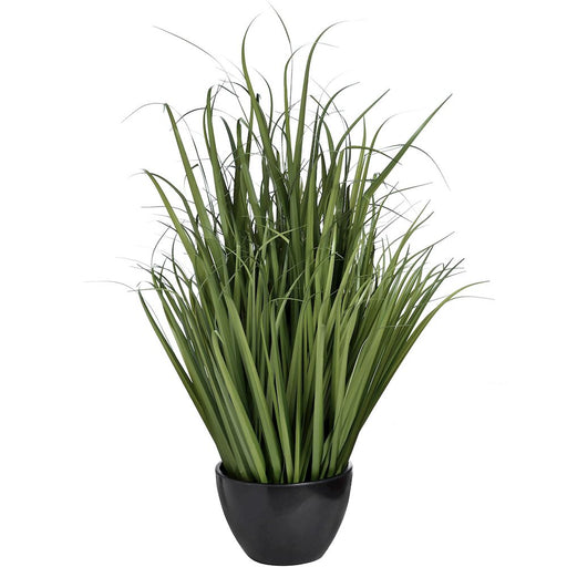Large Faux Potted Grass 96cms - Decor Interiors -  House & Home