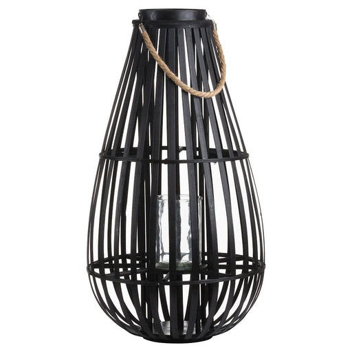 Large Floor Standing Domed Wicker Lantern - Decor Interiors -  House & Home