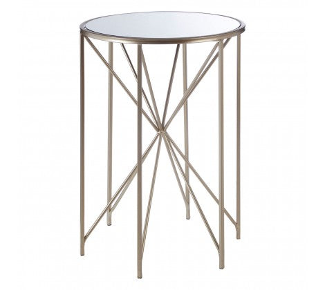 Arcana Champagne Side Table