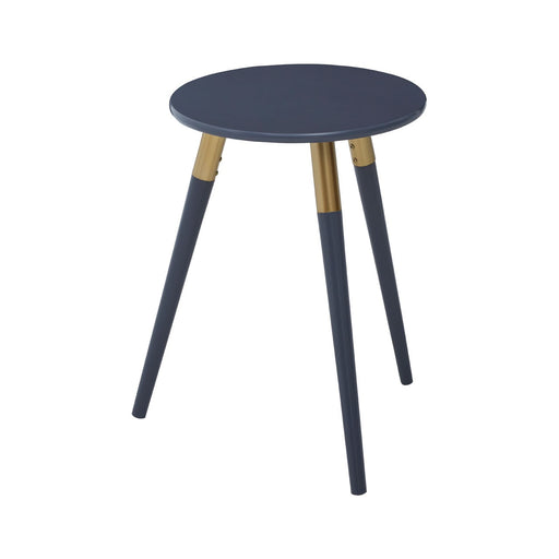 Nostra Dark Grey Wooden Side Table - Decor Interiors -  House & Home