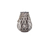 Willow Floor Lantern - Grey 40 X 30 cm - Decor Interiors -  House & Home