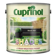 Cuprinol Garden Shades - Black Ash - 1 or 2.5 litres - Decor Interiors -  House & Home