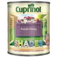 Cuprinol Garden Shades - Purple Pansy - 1 Litre - Decor Interiors -  House & Home