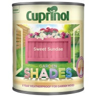 Cuprinol Garden Shades - Sweet Sundae - 1 or 2.5 litre - Decor Interiors -  House & Home
