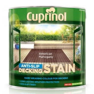 Cuprinol Anti Slip Decking Stain - American Mahogany - 2.5 litres - Decor Interiors -  House & Home