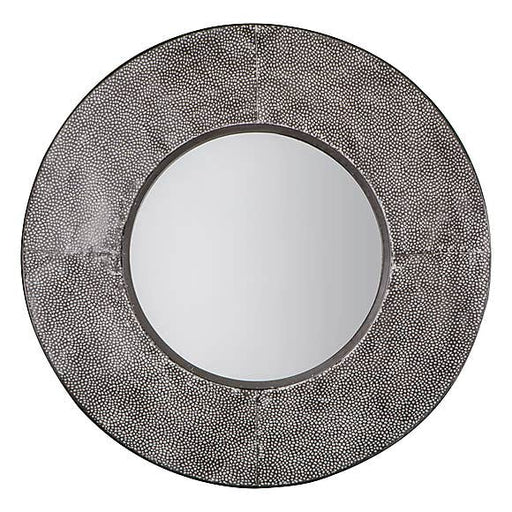 Distressed Industrial Style Metal Mirror - Decor Interiors -  House & Home