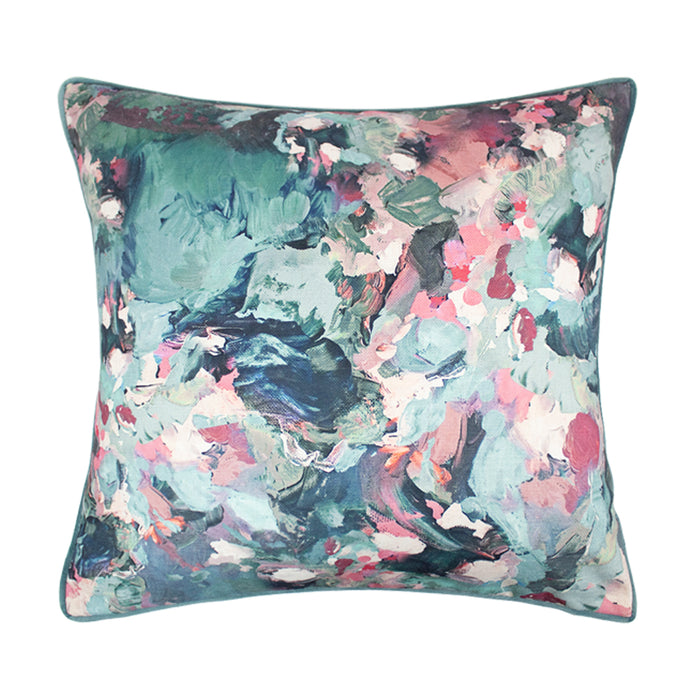 Scatter Box Irie Cushion, Blush/Sage - Decor Interiors -  House & Home