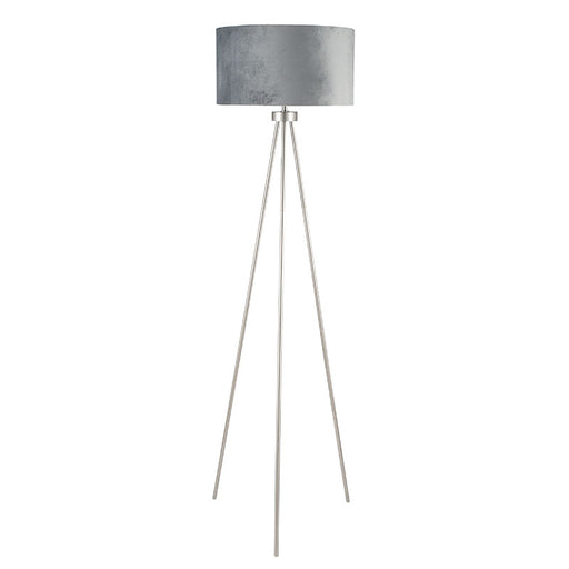 Brushed Silver Tripod Floor Lamp - Decor Interiors -  House & Home