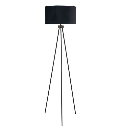 Matt Black Tripod Floor Lamp - Decor Interiors -  House & Home