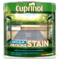 Cuprinol Anti Slip Decking Stain - Silver Birch - 2.5 litres - Decor Interiors -  House & Home