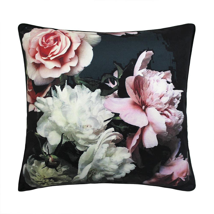 Isabella 45x45cm Cushion, Black - Decor Interiors -  House & Home