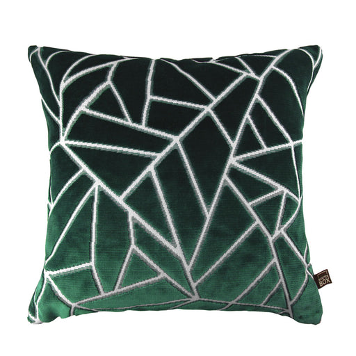 Veda 43x43cm Cushion, Green - Decor Interiors -  House & Home