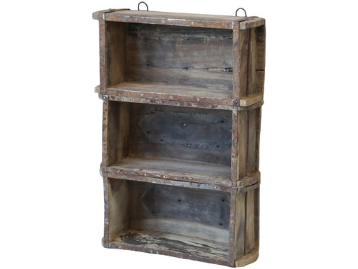 Brick Mould Wooden Wall Shelving Unit - Decor Interiors -  House & Home
