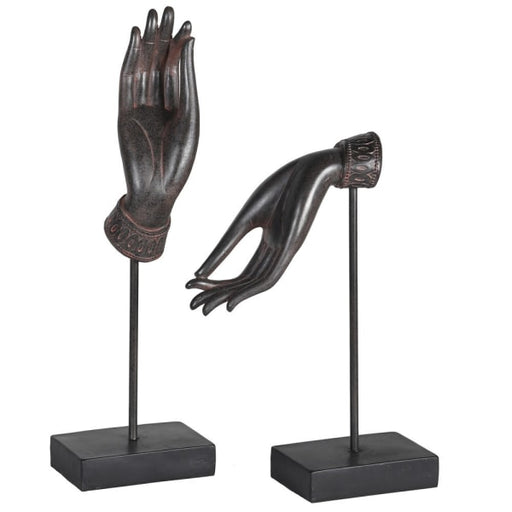 Pair of Ornamental Dancing Hands - Decor Interiors -  House & Home