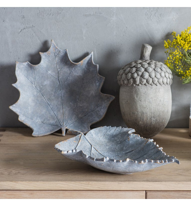 Large Grey Weather Acorn - Decor Interiors -  House & Home