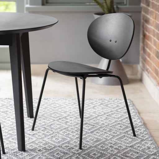 Oxford Black Dining Chair - Decor Interiors -  House & Home