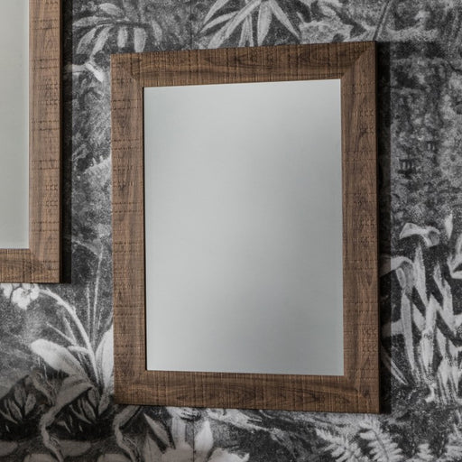 Oak Rectangle Mirror - 58 x 74 cms - Decor Interiors -  House & Home