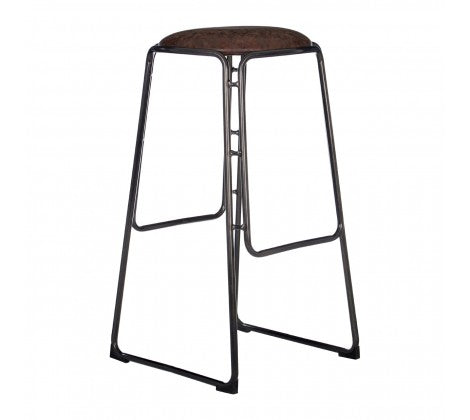 Dalston Bar / Breakfast Bar Stool - Brown - Decor Interiors -  House & Home