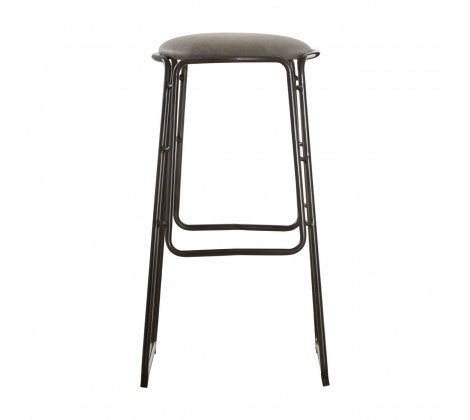 Dalston Bar / Breakfast Bar Stool - Grey - Decor Interiors -  House & Home