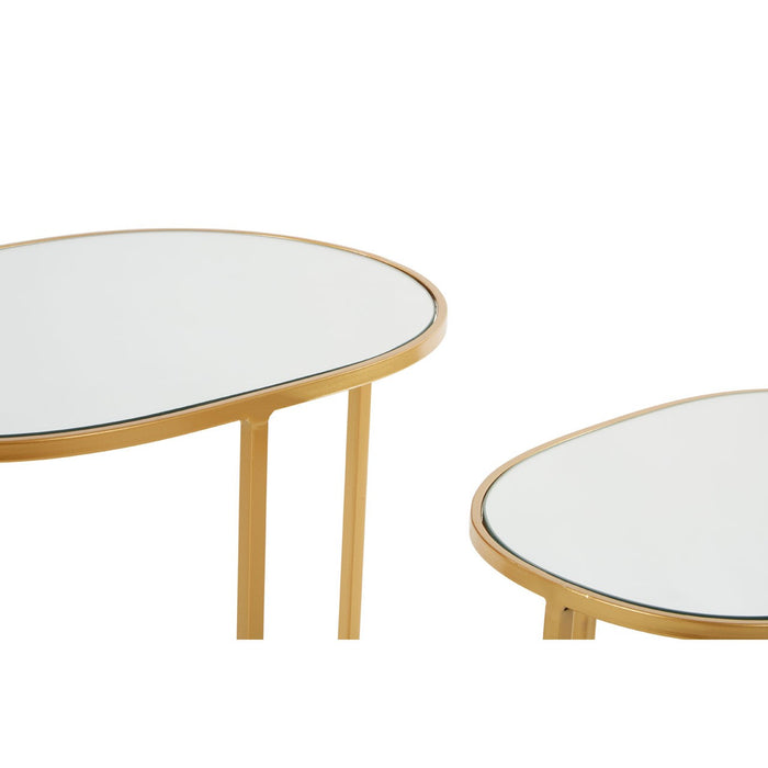 Avantis Set Of 2 Oval Side Tables - Decor Interiors -  House & Home