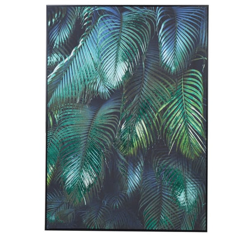 Wall Art with Tropical Leaves - Decor Interiors -  House & Home