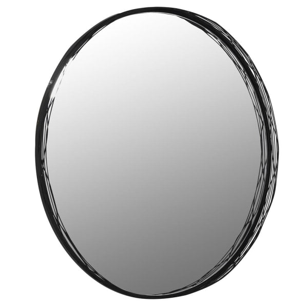 Blackthorn Wire Round Wall Mirror - Decor Interiors -  House & Home