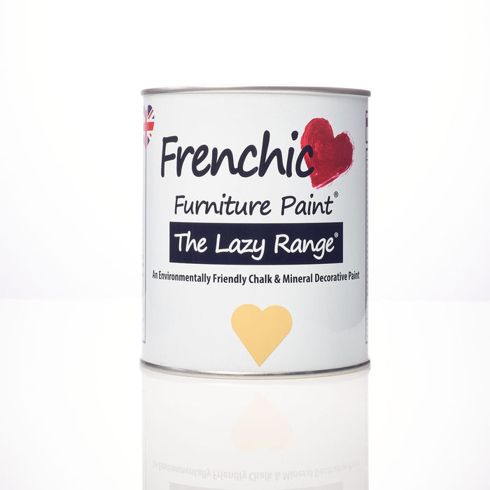 Frenchic New & Improved Lazy Range - Hot As Mustard - Decor Interiors -  House & Home
