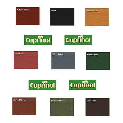 Cuprinol Ducksback - Autumn Brown - 5 or 9 Litres - Decor Interiors -  House & Home