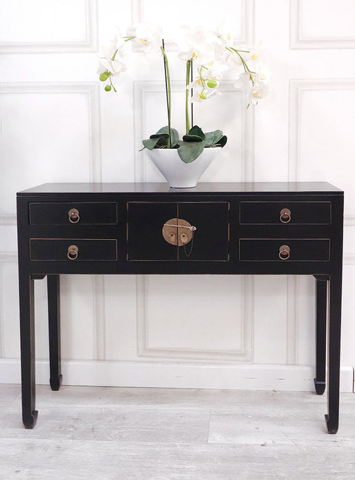 Oriental Style Console Table - Decor Interiors -  House & Home