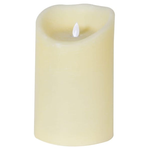 20cm Ivory LED Candle with timer - Decor Interiors -  House & Home