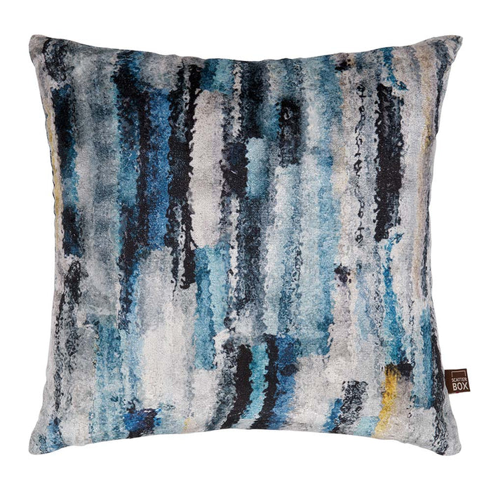 Elysia 43x43cm Blue /Yellow - Decor Interiors -  House & Home