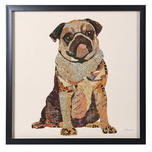 Contemporary Pug Collage Picture - Decor Interiors -  House & Home